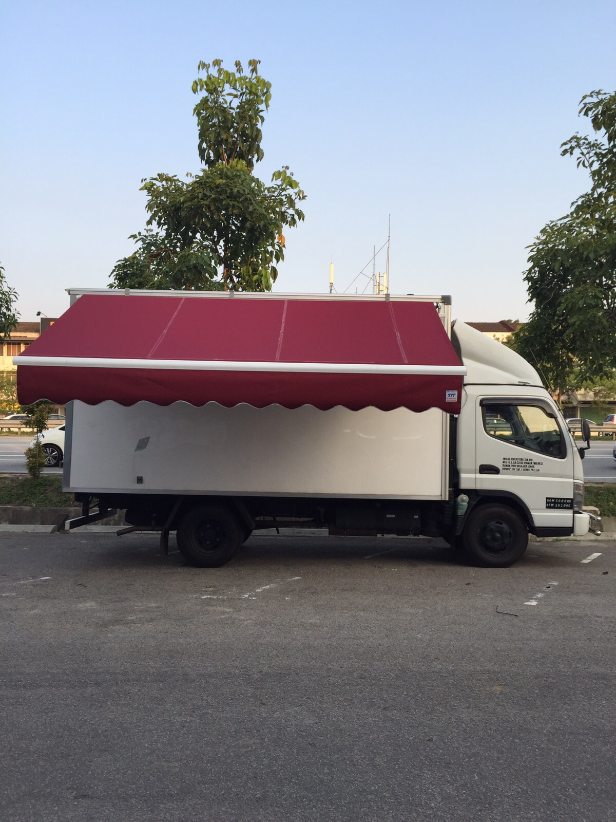 Mobile Food Stall TRUCK project